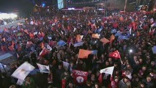 Turkey's AK party wins back majority