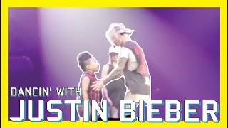 DANCIN' WITH JUSTIN BIEBER | VLOG #7 | #PURPOSETOURCHILDRENFRESNO