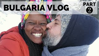 SKIING FOR THE 1ST TIME EVER, LOL! || BULGARIA TRAVEL VLOG PART 2 OF 2 || SOUTH AFRICAN YOUTUBER