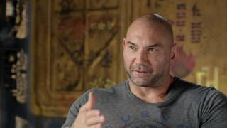 """Guardians of the Galaxy Vol. 2: Dave Bautista """"Drax"""" Behind the Scenes Movie Interview"""