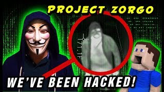 PROJECT ZORGO HACKED OUR CHANNEL! We Caught Him on Film! Break out the Spy Gear