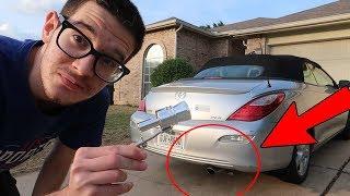 هذا الشيء يخلي سيارتك تطلع صوت تيربو وكانها دباب او لمبرجيني !!!