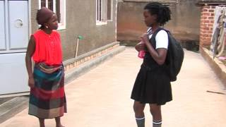 Even Foolish questions are questions. Kansiime Ann