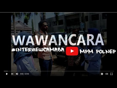 WAWANCARA INTERVIEW  MPMPOLNEP