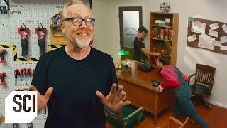 Can You Barricade a Door with Furniture? | MythBusters Jr.