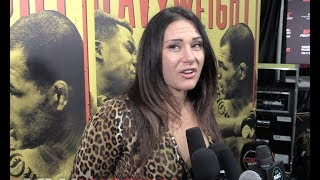 Cat Zingano Talks About Temporarily Losing Her Vision and Bisping Taking Out His Eye