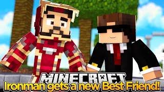 Minecraft Adventure - IRONMAN TRYS TO FIND A NEW BESTFRIEND