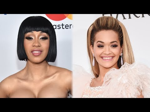 Cardi B DEFENDS Rita Ora's Song