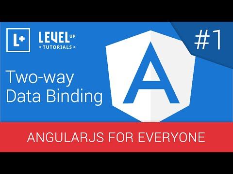 AngularJS For Everyone Tutorial #1 - Two-way Data Binding