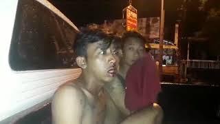 Tim Elang Polrestabes Semarang menangkap dua pemuda diduga begal di Jalan Indraprasta