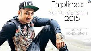 Yo Yo honey singh launch his new song Emptiness Rap