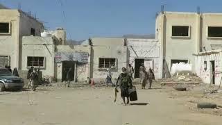 شاهد خروج المساجين من ابناء اليمن بيحان بعد تحريرهم من قبضة الحوثي