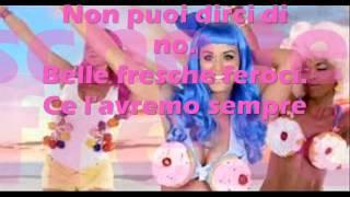 Traduzione CALIFORNIA GIRLS Katy Perry