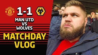 Manchester United 1 - 1 Wolves Matchday VLOG | Man Utd News