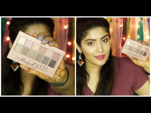 *NEW* Maybelline Blushed Nudes palette review and swatches