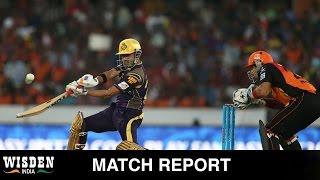 IPL 2016: Gautam Gambhir takes the lead as Kolkata trump Hyderabad   Wisden India