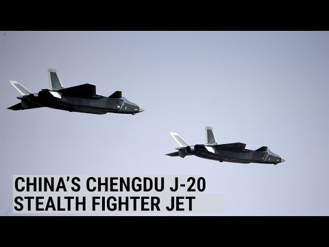 China unveils Chengdu J-20 stealth fighter