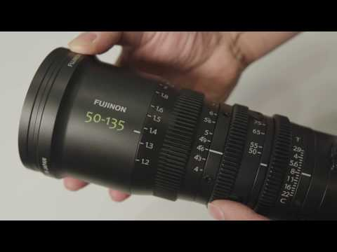 Fujinon MK 50-135mm T2.9 prototype on display at BVE 2017