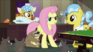Putting the animals to bed - Fluttershy Leans In