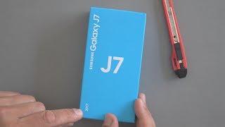 Samsung Galaxy J7 (2017): Unboxing & Ersteindruck | deutsch