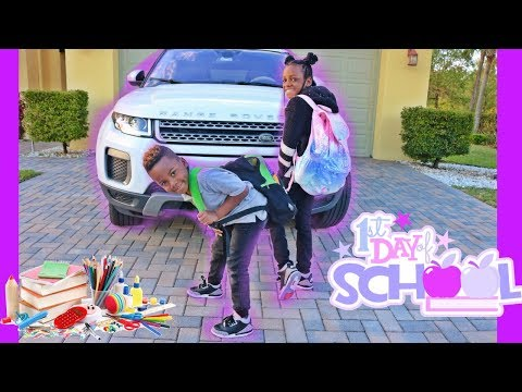 Xxx Mp4 The Kids First Day Of School At Their New School Family Vlog 3gp Sex
