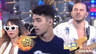 DNCE- Cake by the ocean (GMA)