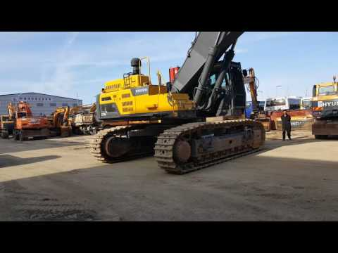 [ Winwin Used Machinery ] Used Excavator VOLVO EC750DL 2015yr For sale