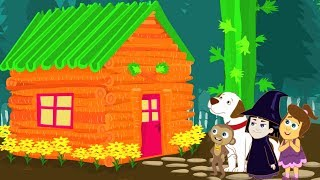 Haunted House | Halloween Party | Animated Cartoons for Kids | HooplaKidz Toons