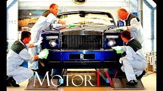 CAR FACTORY : ROLLS-ROYCE PHANTOM / GHOST /WRAITH PRODUCTION (NO MUSIC) l Goodwood plant (UK)