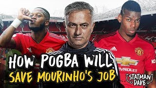 How Paul Pogba Can Save Jose Mourinho's Manchester United | Tactics Explained