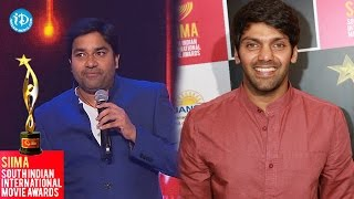 SIIMA 2014 || Tamil Best Actor in Supporting Role || Arya