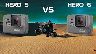GOPRO HERO 5 VS HERO 6 Complete Review & Test