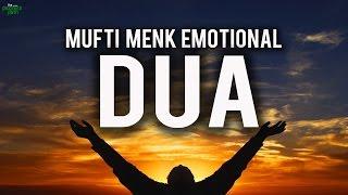 Emotional Dua: MUFTI MENK CRIES