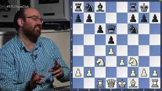 Svidler vs. Hou Yifan, Tata Steel 2018 | Secret Life of Pawns - GM Josh Friedel