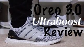 UA Ultra Boost 3.0 Black/White Unboxing Review