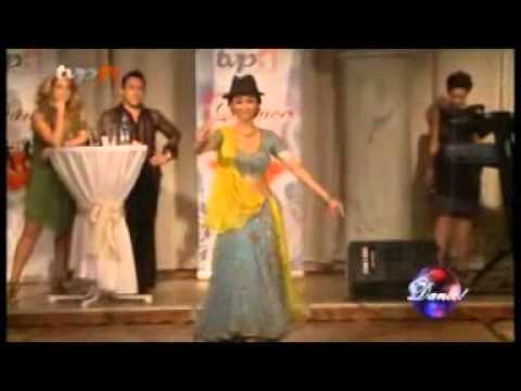Mahsa in Tv Persia 1 Dance Contest