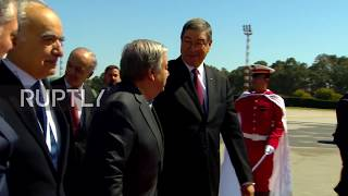 Tunisia: UN's Guterres and Arab FMs arrive at Arab League summit