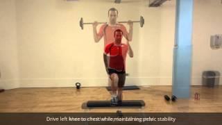 Single Leg Step Up: Physio Drogheda