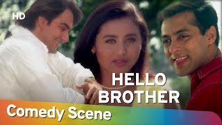 Hello Brother - Salman Khan - Best Comedy Scene - (सलमान खान हिट कॉमेडी)- Shemaroo Bollywood Comedy