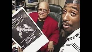 TUPAC AT INSIDE DEATHROW RECORDS (RARE FOOTAGE) ALL EYEZ ON ME