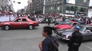 Desfile de Autos Antiguos Mexico 2014