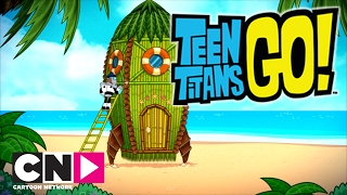 Teen Titans Go! | Cohete de bambú | Cartoon Network