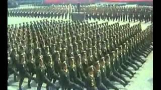 North Korean Military Parade (75 Year Anniversary)