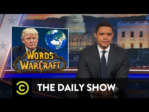 President Trump Tangles with Foreign Leaders The Daily Show
