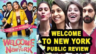Welcome To New York Movie Public REVIEW | First Day First Show Review | Sonakshi Sinha,Karan Johar