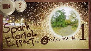 Doctor Strange Spark Portal Effect in Blender | PART 1 | BLENDER HOW TO | Visual Effects