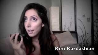 Kim Kardashian Impression with the Press!