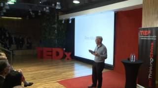 Getting comfortable outside your comfort zone: Michael Johnson at TEDxHultBusinessSchoolSH