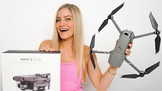Mavic 2 Zoom Unboxing and Review!