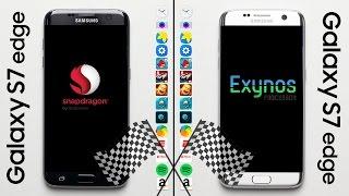 Galaxy S7 (Snapdragon) vs. Galaxy S7 (Exynos) Speed Test